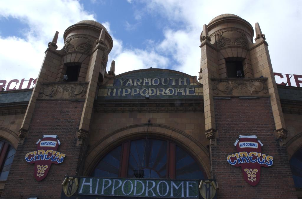 Architectural Decoration On The Hippodrome Circus From The